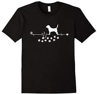 Breed Beagle Dog Heartbeat Gift Dogs T-shirt