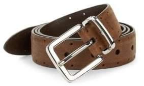 Brunello Cucinelli Perforated Leather Belt