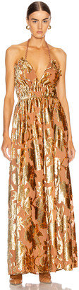 Ulla Johnson Gia Dress in Rose Gold | FWRD