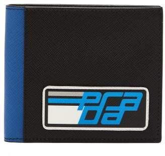 46eabe64421e ... coupon code for com prada bi fold saffiano leather wallet mens black  41b55 0ca68