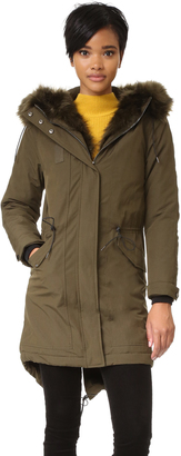 Whistles Jules Parka $340 thestylecure.com