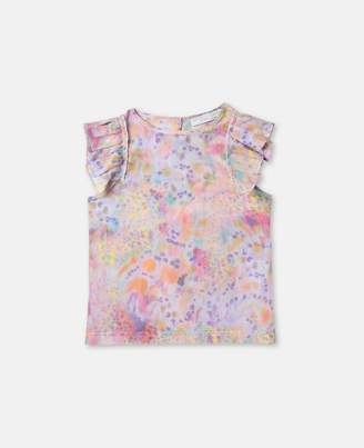 Stella McCartney kitty marble print top