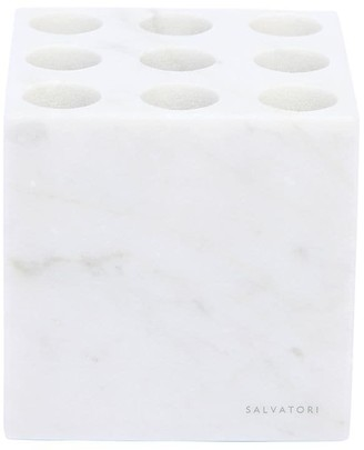 Carrara Marble Toothbrush Holder