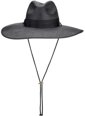 1bea0a49ee09 Black Brim Hat - ShopStyle UK