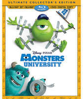 Disney Monsters University 4-Disc Ultimate Collector's Edition