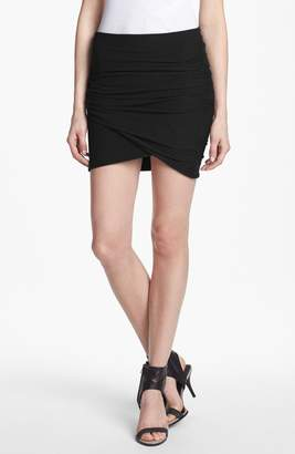 James Perse Wrapped Miniskirt
