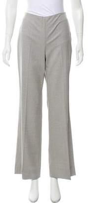 Oscar de la Renta Mid-Rise Wool Pants