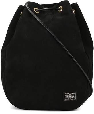 Porter-Yoshida & Co logo patch drawstring bag