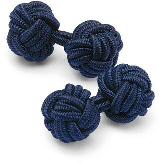 Navy Knot Cufflinks by Charles Tyrwhitt