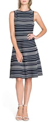 Nic+Zoe This or That Reversible Twirl Dress