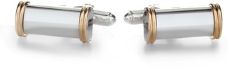 Brooks Brothers 14k Gold and Silver Bar Cuff Links