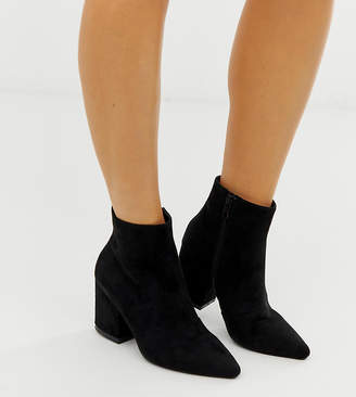 Raid Wide Fit RAID Wide Fit Kola black ankle boots