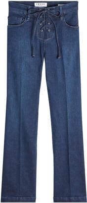 Frame Le Crop Mini Boot Lace-Up Jeans
