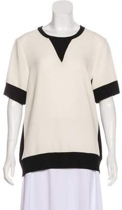 Rag & Bone Crepe Knit Top