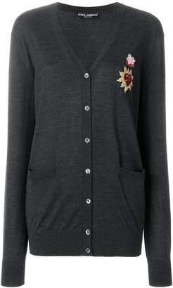 Dolce & Gabbana Sacred Heart appliqué cardigan
