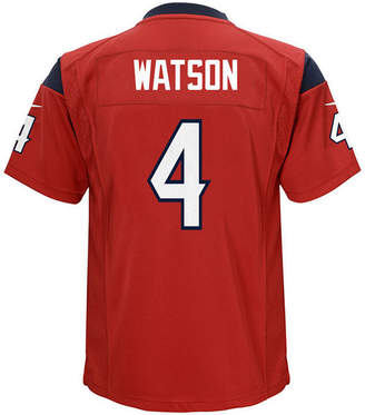 Nike DeShaun Watson Houston Texans Game Jersey, Big Boys (8-20)