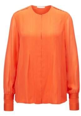BOSS Hugo Silk Blouse Borisa GC 8 Orange