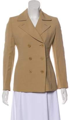 Max Mara Fitted Double-Breasted Blazer