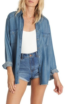 Women's Billabong Blues River Chambray Shirt $64.95 thestylecure.com