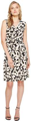Ellen Tracy Twist Front Dress Women's Dress