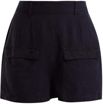 Falke Golf linen and silk-blend bermuda shorts