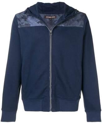 Michael Kors zip front hoodie