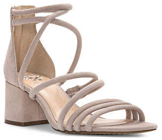 Vince Camuto Saral Leather Strappy Sandals