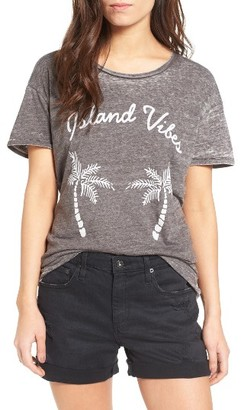 Women's Junk Food Island Vibes Tee $50 thestylecure.com