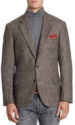 Brunello Cucinelli Donnegal Hounds Sportcoat