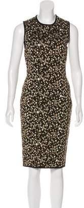 Givenchy Printed Sheath Dress