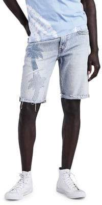 Levi's 511 Pasted Palm Slim-Fit Cotton Shorts