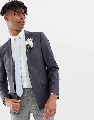 Asos DESIGN Wedding Skinny Suit Jacket In Tonic