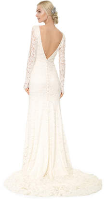 Theia Nicole Lace Gown $1,495 thestylecure.com