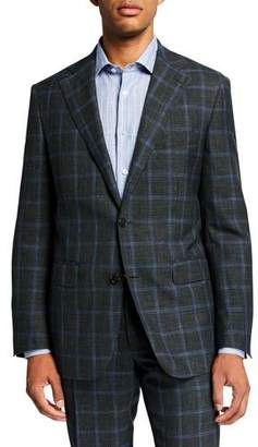 Atelier Munro Men's Plaid Two-Piece Suit