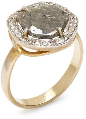 Shay Women's 14K Yellow Gold & 0.83 Total Ct. Diamond Slice Ring