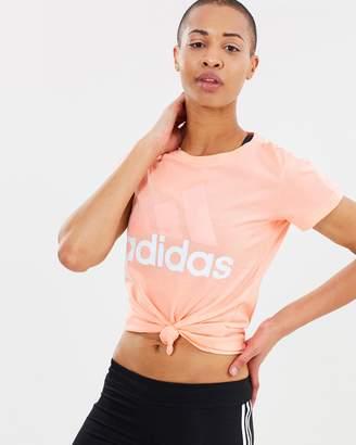 adidas Essentials Linear Slim Tee