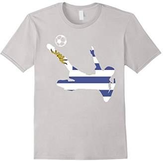 Soccer Football Uruguay Flag sport T shirt