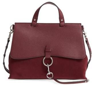 Rebecca Minkoff Medium Keith Suede & Leather Satchel