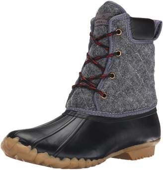 Western Chief Women's Quilted Four Eye Duck Snow Boot