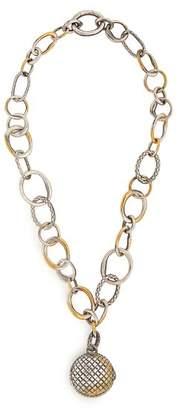 Bottega Veneta - Locket Chain Pendant - Womens - Gold