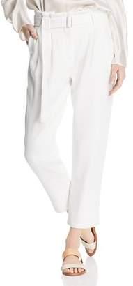 Catherine Malandrino Arturo Belted Paperbag-Waist Pants