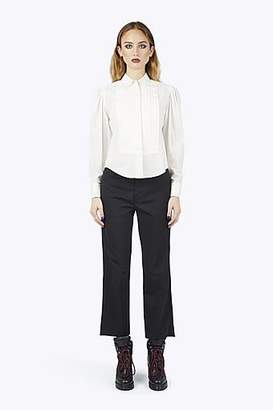 CONTEMPORARY Cotton Poplin Top-Stitched Shirt