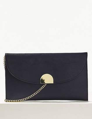 Marks and Spencer Fold Over Chain Clutch Bag