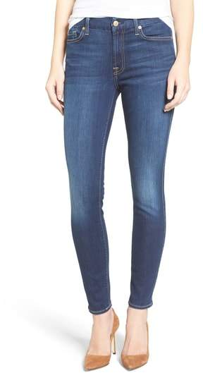 7 For All Mankind(R) 'b(air) - The Ankle' Skinny Jeans