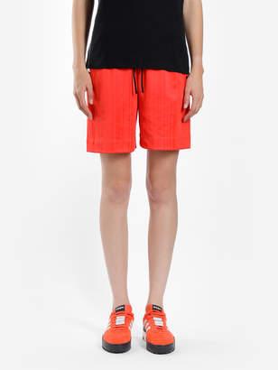Alexander Wang Adidas By ADIDAS BY RED SOCCER SHORTS