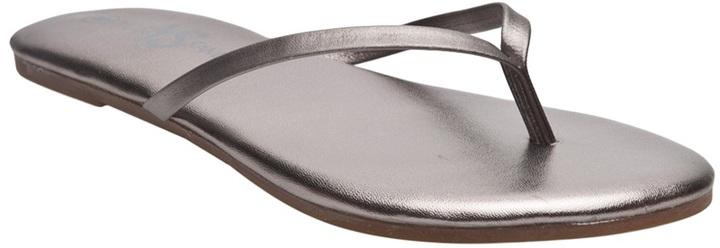 Yosi Samra Metallic flip flop