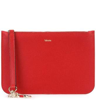 Valextra zipped clutch