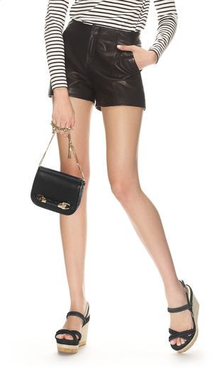 Jimmy Choo Zadie Satin Leather with Elaphe Cross Body Bag