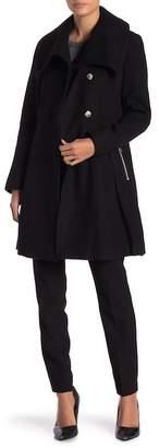 GUESS Wool Blend Coat
