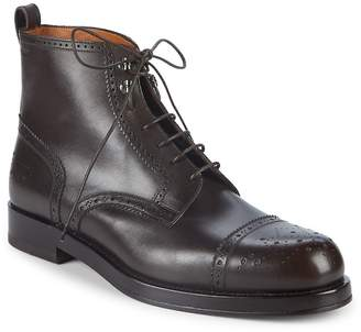 Bally Men's Nordal Leather Ankle Boots